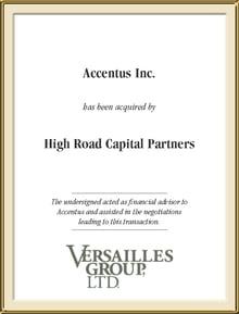Accentus Inc.