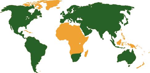 Regions Served